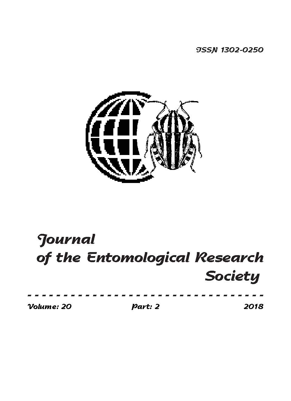 View Vol. 20 No. 2 (2018): Journal of the Entomological Research Society