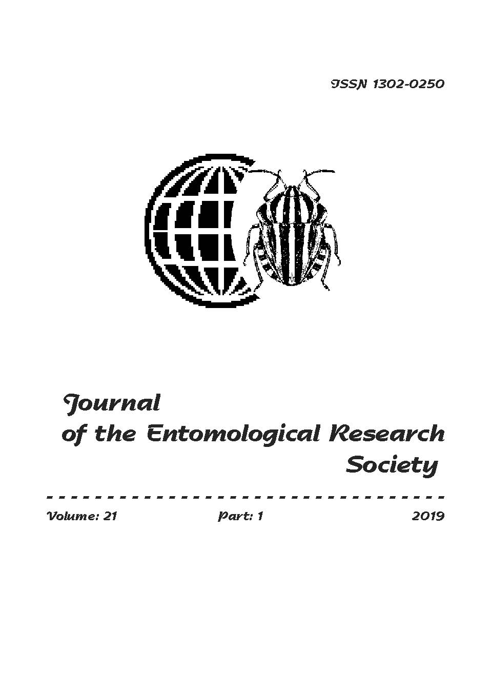 View Vol. 21 No. 1 (2019): Journal of the Entomological Research Society