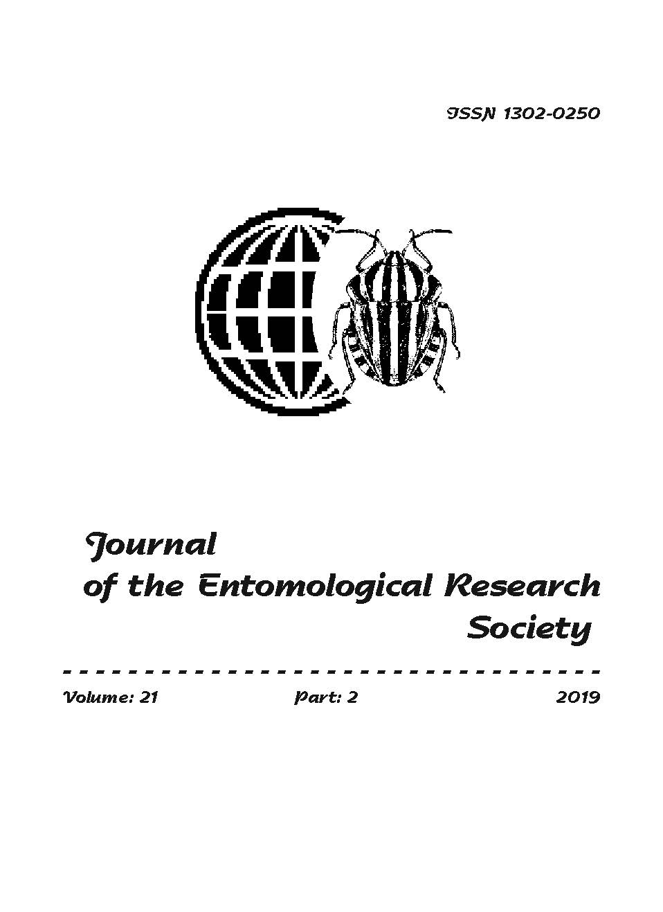 View Vol. 21 No. 2 (2019): Journal of the Entomological Research Society
